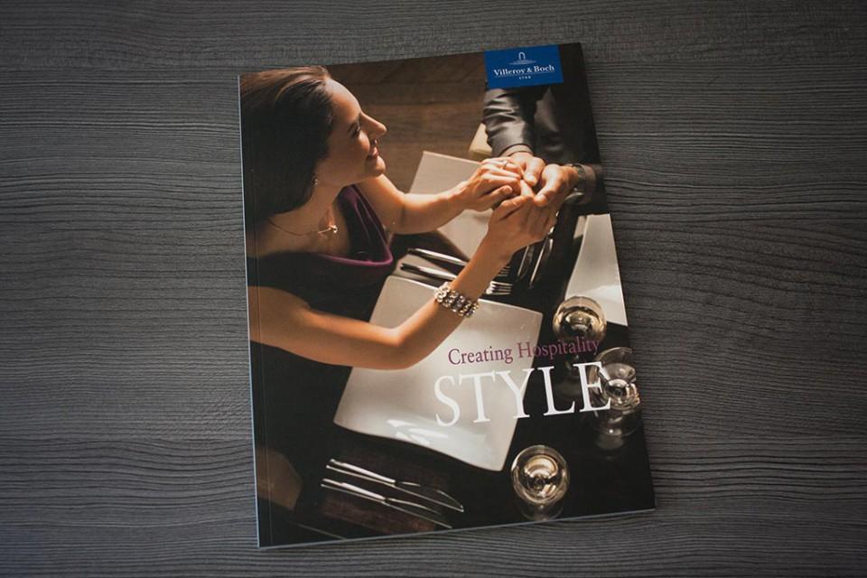 Villeroy Boch Hotel Collectionsbroschüren Iris Christians
